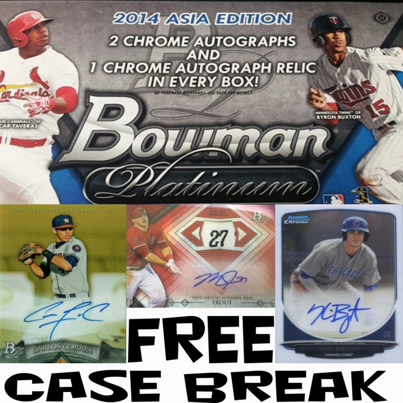 Free 2014 Platinum ASIA Case Break