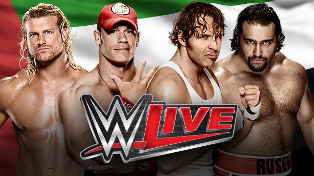 Win a chance to watch WWE Live in Abu Dhabi with your friend