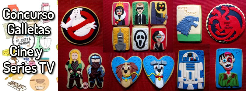Concurso galletas de cine y series de TV