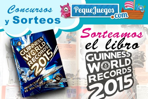 Gana un libro Guinness World Records 2015 con PequeJuegos