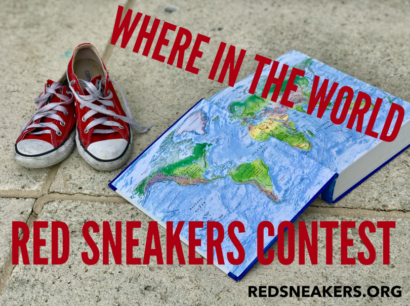 WHERE IN THE WORLD Red Sneakers for Oakley Photo Contest!