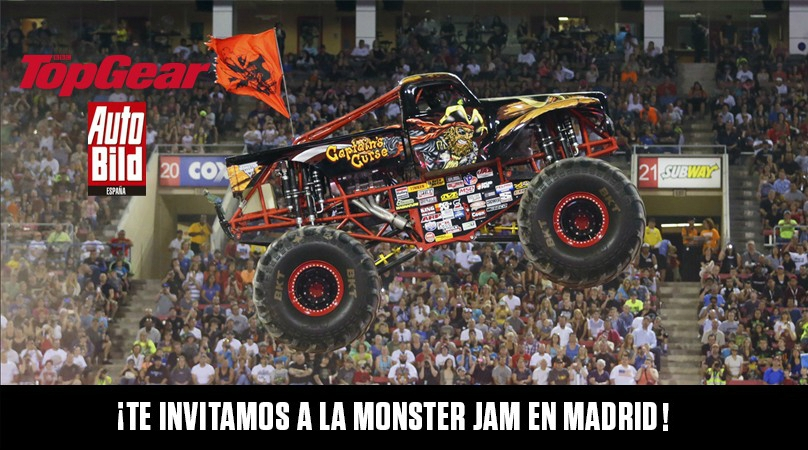 ¡Te invitamos a la Monster Jam en Madrid!