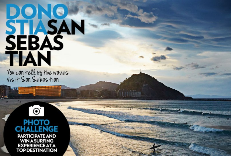 You can tell by the  waves – Visit San Sebastian
