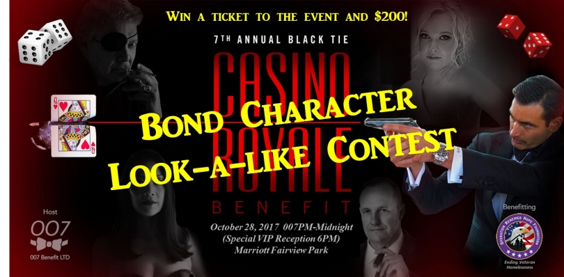 Bond Character Look-a-Like Contest